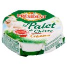 Président Palet de Chèvre Fat Soft Goat's Milk Cheese 120 g