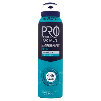 Tesco Pro Formula for Men Sport Antiperspirant Deodorant 150 ml