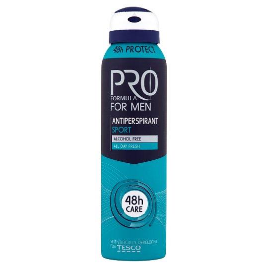 Tesco Pro Formula for Men Sport izzadásgátló dezodor 150 ml