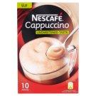 Nescafé Cappuccino Instant Coffee Specialty with Low-Fat Milk Powder 10 x 12 g