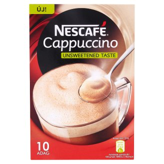 Nescafé Cappuccino Instant Coffee Specialty with Low-Fat Milk Powder 10 x 12 g