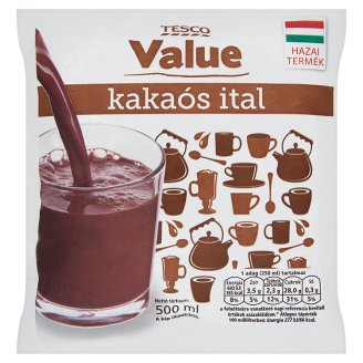 Tesco Value Low-Fat Cocoa Drink 500 ml