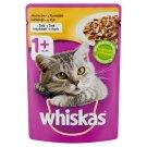 Whiskas 1+ teljes értékű nedves eledel felnőtt macskáknak csirkével aszpikban 100 g