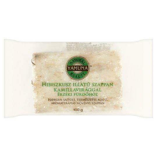 Yamuna hibiszkusz illatú szappan kamillavirággal 100 g