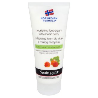 Neutrogena Norwegian Formula Nourishing Foot Cream with Nordic Berry for Dry Feet 100 ml