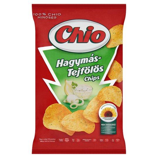 Chio hagymás-tejfölös burgonyachips 75 g