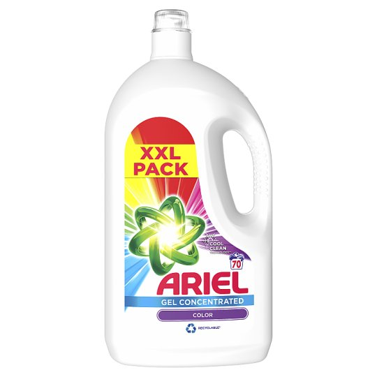 Ariel Washing Liquid Color & Style 3.85 L, 70 Washes, Gives You Outstanding Stain Removal In The First Wash
