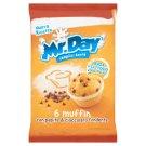 Mr. Day Muffin Classic finom sütemény csokoládé darabkákkal 6 db 252 g