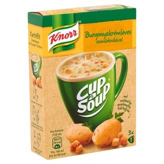 Knorr Cup a Soup Potato Cream Soup with Croutons 3 x 16 g