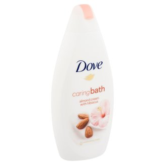 Dove Caring Cream Bath with Almond Cream and Hibiscus 500 ml