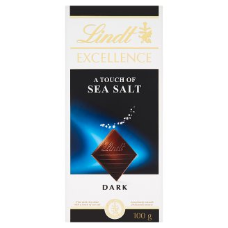 Lindt Excellence Fine Dark Chocolate with Sea Salt 100 g