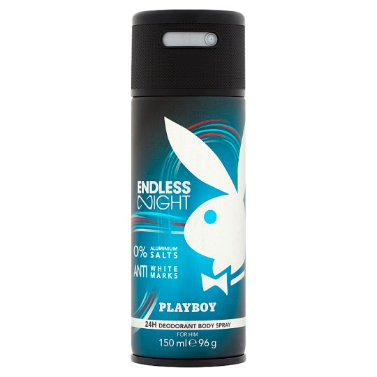 Playboy Endless Night Deodorant Body Spray for Him 150 ml