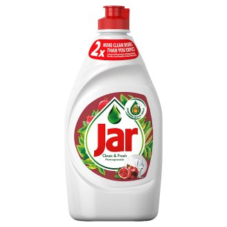 Jar Hand Washing Up Liquid Pomegrate 450ml