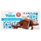 Tesco Value tejcsokoládé 100 g