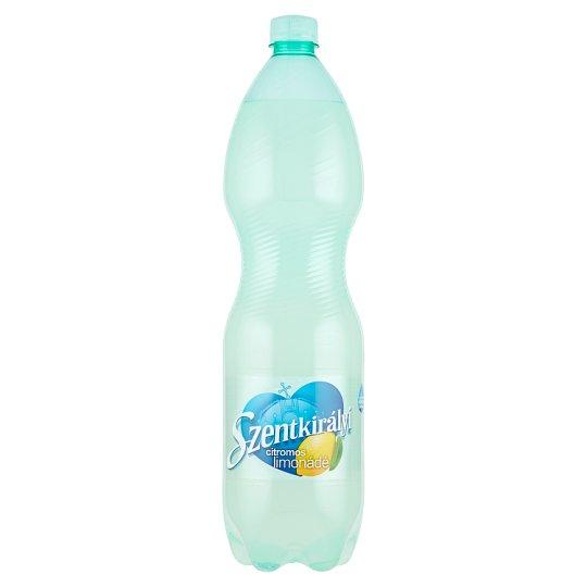 Szentkirályi szénsavas citromos limonádé cukorral és édesítőszerrel 1500 ml
