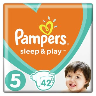 Pampers Sleep&Play, 5-as Méret, 42 db Pelenka, 11–16 kg