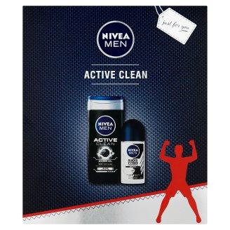 NIVEA MEN Active Clean ajándékcsomag