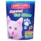 Long Feng Crystal szilika alapú macskaalom 3,8 l