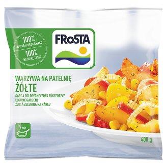 FRoSTA gyorsfagyasztott sárga zöldségkeverék fűszerezve 400 g