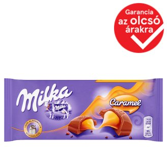 Milka Caramel Filled Alpine Milk Chocolate 100 g