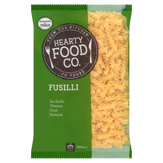 Hearty Food Co. Fusilli Dry Pasta without Egg 500 g