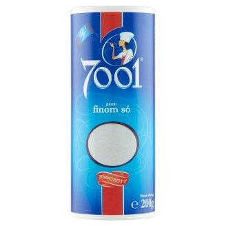 7001 Iodized Braised Fine Salt 200 g