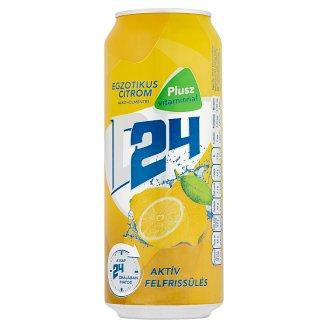 D24 Egzotikus Citrom citrom ital és alkoholmentes világos sör keveréke 0,5 l