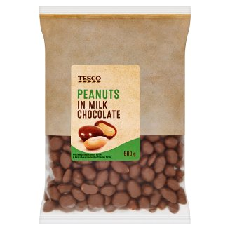 Tesco Peanuts in Milk Chocolate 500 g