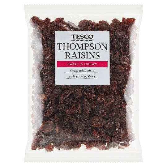 Tesco Thompson Raisins 200 g