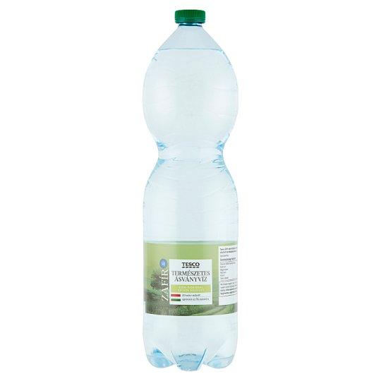 Tesco Zafír szén-dioxiddal enyhén dúsított természetes ásványvíz 1,5 l