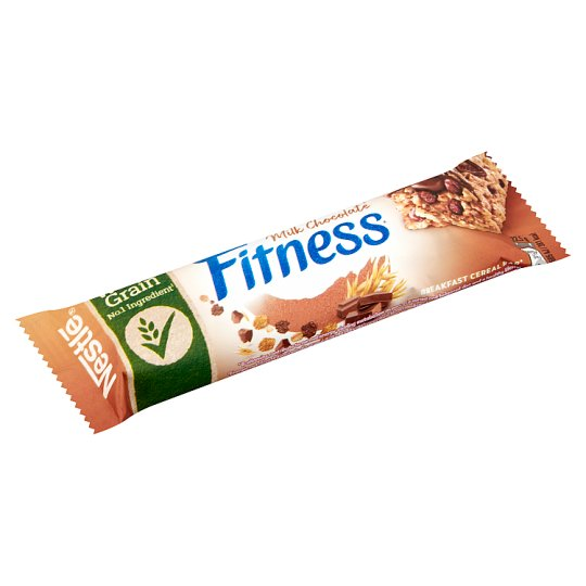 Nestlé Fitness Delice Cereal Bar with Milk Chocolate 22,5 g