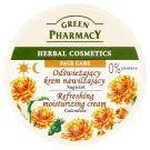 Green Pharmacy frissítő és hidratáló körömvirág kivonatos arckrém 150 ml