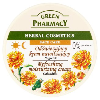 Green Pharmacy Refreshing Moisturizing Cream with Calendula 150 ml