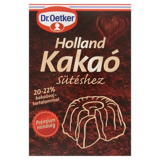 Dr. Oetker Dutch Cocoa Powder for Baking 70 g