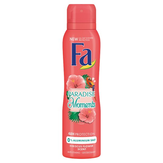 Fa Paradise Moments Deodorant with Hibiscus Flower Scent 150 ml