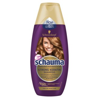 Schauma Shampoo Keratin Strong 250 ml