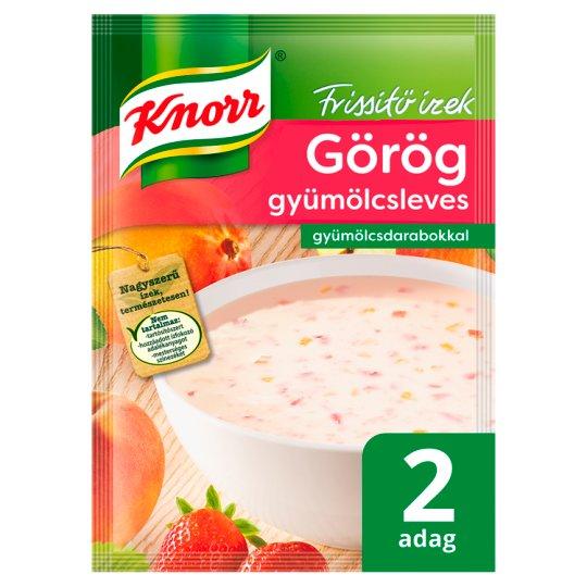 Knorr Frissítő Ízek Greek Fruit Soup with Fruit Pieces 54 g