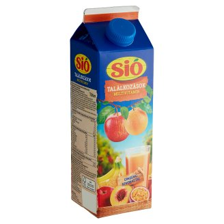 Sió Pulpy Multivitamin Mixed Fruit Drink with Buckthorn Extract 1 l