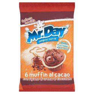 Mr. Day Kakaós Muffin finom sütemény csokoládé töltettel 6 db 252 g