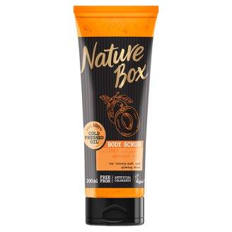 Nature Box Barack testradír a sima bőrért 200 ml