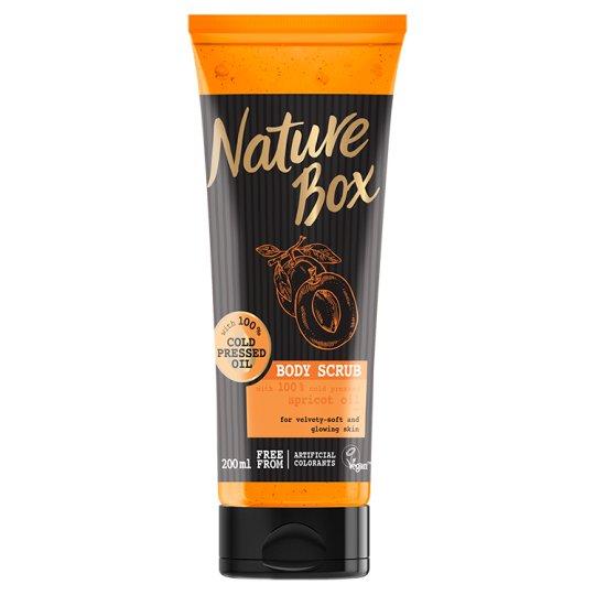 Nature Box Body Scrub with Cold Pressed Apricot Oil 200 ml