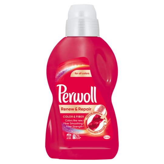 Perwoll renewAdvanced Color Light Duty Detergent for Color Textiles 15 Washes 900 ml