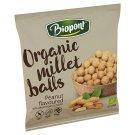 Biopont Organic Gluten-Free Peanut Flavoured Millet Balls 75 g