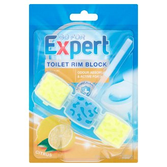 Go for Expert Citrus Toilet Rim Block 45 g