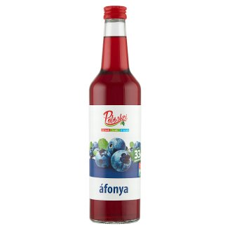 Pölöskei Blueberry Flavoured Syrup with Sugar and Sweetener 0,7 l