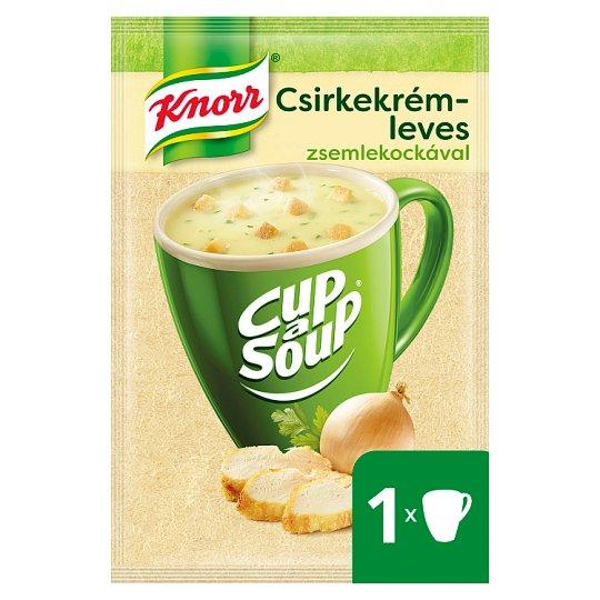 Knorr Cup a Soup csirkekrémleves zsemlekockával 16 g