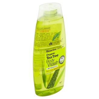 Dr. Organic Bioactive Skincare tusfürdő BIO teafaolajjal 250 ml