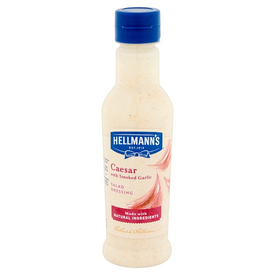 Hellmann's Cézár salátaöntet füstölt fokhagymával 210 ml
