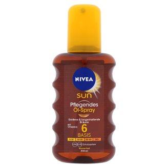 NIVEA SUN ápoló napolaj spray FF6 200 ml