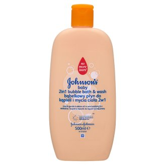 Johnson's Baby 2 in 1 Bubble Bath & Wash 500 ml